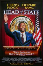 Head of State movie poster [Chris Rock] 27x40 video version