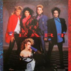 Heart poster: Heart vintage LP/Album flat