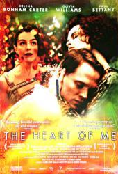 The Heart of Me movie poster [Helena Bonham Carter, Paul Bettany]