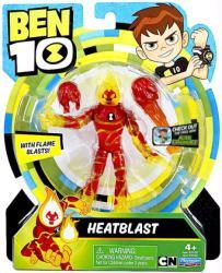 "Ben 10: Heatblast 5"" action figure (Playmates/2017)"