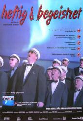 Heftig & Begeistret movie poster [Knut Erik Jensen documentary] Norway