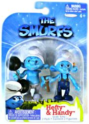 The Smurfs: Hefty & Handy figures (JAKKS Pacific/2011)