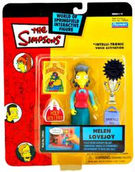 The Simpsons Series 13: Helen Lovejoy action figure (Playmates/2003)