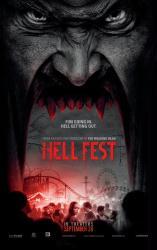 Hell Fest movie poster (2018 horror film) 27x40 original advance