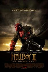 Hellboy II: The Golden Army poster [Ron Perlman] Guillermo del Toro