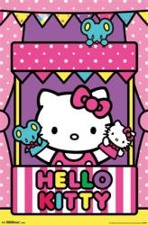 Hello Kitty poster: Puppet Show (22x34) New