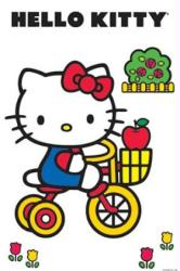 Hello Kitty poster: Tricycle (24x36)
