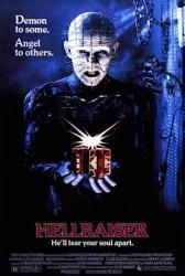 Hellraiser movie poster [Doug Bradley] 1987 Clive Barker film (24x36)
