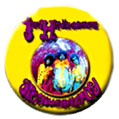 Jimi Hendrix pinback: Are You Experienced? (1.25'' Button)