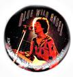 Jimi Hendrix magnet: Blue Wild Angel (1 1/4'' Button Magnet)