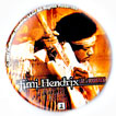 Jimi Hendrix magnet: Woodstock (1 1/4'' Button Magnet)