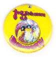 Jimi Hendrix magnet: Are You Experienced? (1 1/4'' Button Magnet)