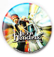 Jimi Hendrix magnet: South Saturn Delta (1 1/4'' Button Magnet)