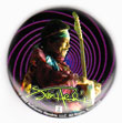 Jimi Hendrix magnet: Swirl (1 1/4'' Button Magnet)