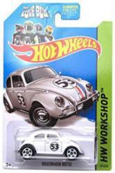 Hot Wheels HW Workshop: The Love Bug Herbie Volkswagen Beetle die-cast