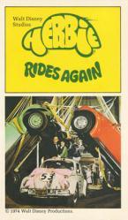 Herbie Rides Again paperback book/1974 [Walt Disney]