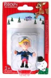 Rudolph the Red-Nosed Reindeer: 2 1/4'' Hermey figurine