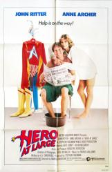 Hero At Large movie poster [John Ritter, Anne Archer] 27x41 original