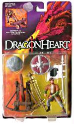 Dragonheart: Hewe action figure w/ Boulder-Launching Catapult (Kenner)