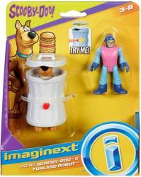Imaginext Scooby-Doo: Hiding Scooby-Doo & Funland Robot figures