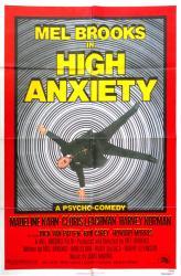 High Anxiety movie poster [Mel Brooks] original 27x41 (1977)