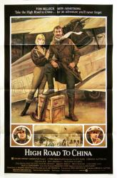 High Road to China movie poster [Tom Selleck, Bess Armstrong] 27x41