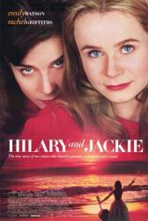Hilary and Jackie movie poster [Emily Watson, Rachel Griffiths] 26x40