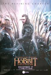 The Hobbit: The Battle of the Five Armies movie poster [Bard] 27x39