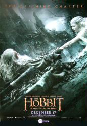 The Hobbit: The Battle of the Five Armies movie poster [2014] 27x39