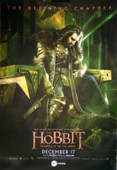 The Hobbit: The Battle of the Five Armies movie poster [Thorin] 27x39