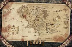 The Hobbit poster: Map of Middle Earth (34x22) JRR Tolkien