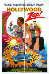Hollywood Zap movie poster (1986) original 27x41