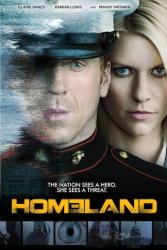 Homeland poster: TV series [Claire Danes & Damian Lewis] 24'' X 36''