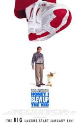 Honey, I Blew Up the Kid movie poster [Rick Moranis] video poster