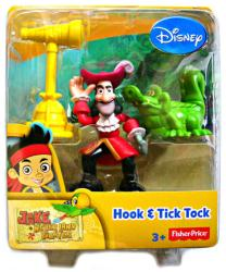 Jake and the Never Land Pirates: Hook & Tick Tock figures (Disney)