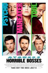 Horrible Bosses movie poster [Kevin Spacey, Jennifer Aniston] 27x40