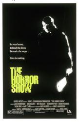 The Horror Show movie poster [Brion James] original 27 X 41