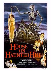 House On Haunted Hill movie poster (1959) [Vincent Price] 18 X 24