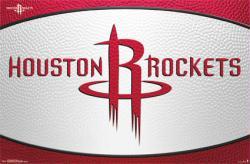 Houston Rockets poster: Logo (NBA) 34x22