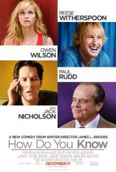 How Do You Know movie poster [Reese Witherspoon/Owen Wilson/Paul Rudd]