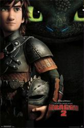 How To Train Your Dragon 2 movie poster (22x34) 2014 animated film