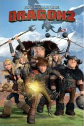 How to Train Your Dragon 2 movie poster (24 X 36) animated