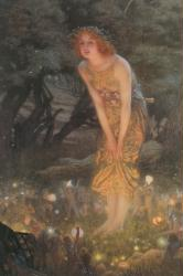 Edward Hughes poster: Midsummer Eve (24'' X 36'') New