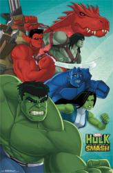 Hulk and the Agents of S.M.A.S.H. poster (Marvel TV series) 22x34