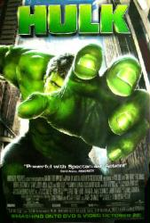 Hulk movie poster [an Ang Lee film] 27x40 video poster