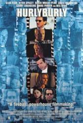 Hurlyburly movie poster [Sean Penn] 27x40 video version