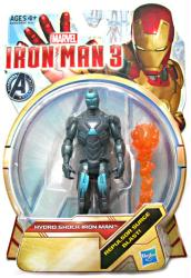 Iron Man 3: Hydro Shock Iron Man action figure (Hasbro/2012)