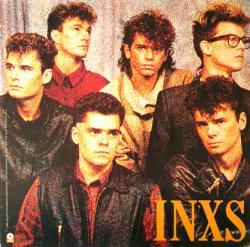 INXS poster: The Swing vintage LP/album flat (1984)