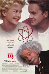 I.Q. movie poster [Meg Ryan, Tim Robbins, Walter Matthau] 27x40