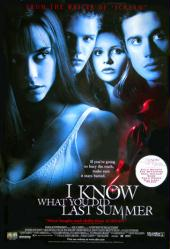 I Know What You Did Last Summer movie poster [Jennifer Love Hewitt]